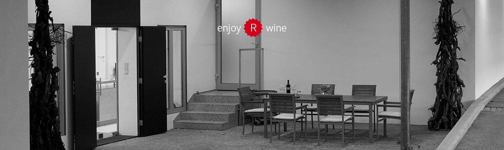 Eingangsbereich Weingut Reumann